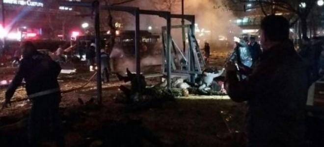 Ankara'da Bombalı Saldırı