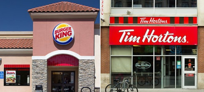 Burger King'in Tim Hortons'u satın alımı anlaşması açıklandı