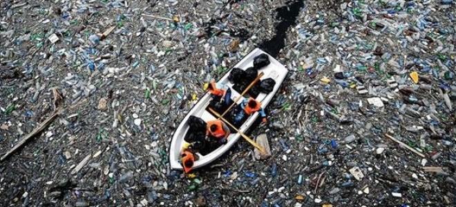 Denizden toplanan atıklar kumaş ve ambalaja dönüşecek