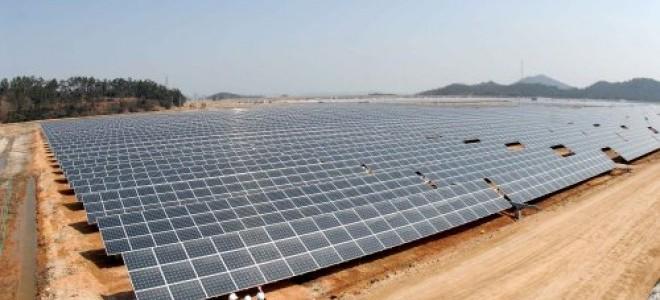 İzmir'de Güneş Tarlası'nda 420 bin liralık elektrik üretilecek