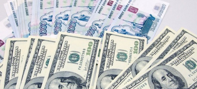 Ruble, ABD Doları karşısında rekor düşüş gösterdi