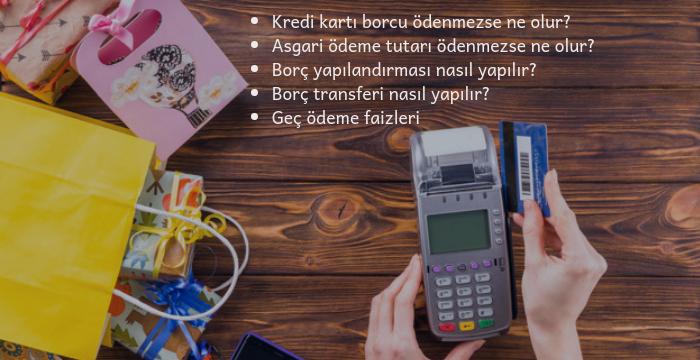 Kredi Kartı Borcu Hakkında Bilmeniz Gerekenler