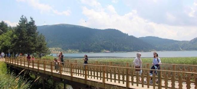 Abant'ta Arap turist sayısı azaldı