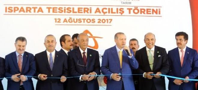 Anadolu Etap'ın iki yeni fabrikasının açılışı Cumhurbaşkanı Erdoğan'ın katıldığı törenle gerçekleştirildi