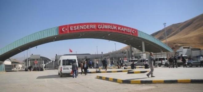 Esendere Sınır Kapısı 24 saat hizmet verecek