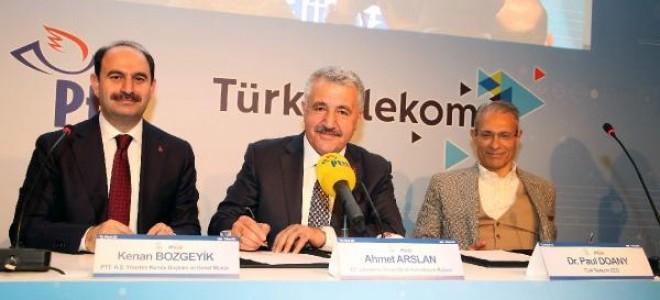 Ulaştırma Bakanı Arslan: (PTTCELL'in abone sayısı) Bu sene sonunda en az 1 milyona çıkarmayı hedefliyoruz