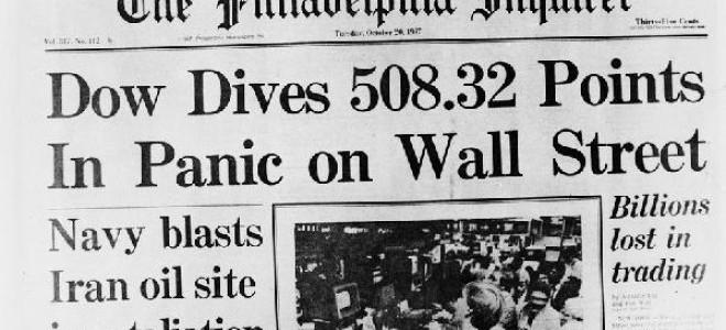Wall Street - 30 Yıl Önce Bugün