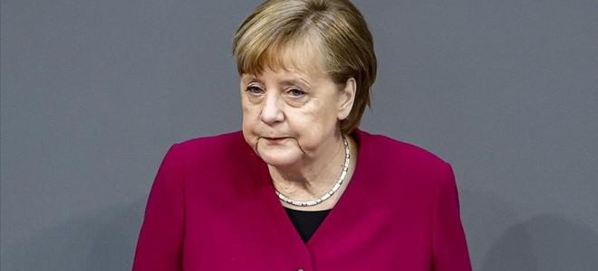 Almanya Başbakanı Merkel'den