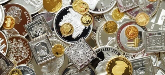 Altın ve gümüş fiyatları düşüşte