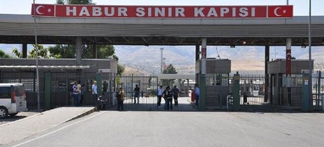 Bakan Tüfenkci: Gelişmelere göre her an Habur'u kapatabiliriz