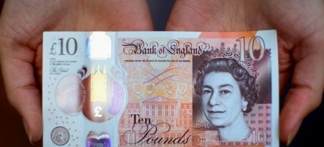 Birleşik Krallık yeni 50 sterlinlik banknot basacağını duyurdu