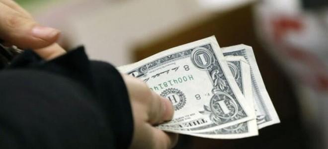 Dolar/TL'den ani düşüş