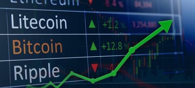 En Büyük 10 Kripto Paranın Dördü Yükseldi