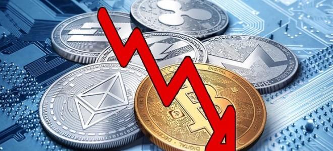 En Yüksek Hacimli İlk 10 Kripto Para İnişe Geçti