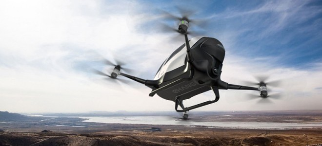 Futuristanbul'a drone taksi damgası