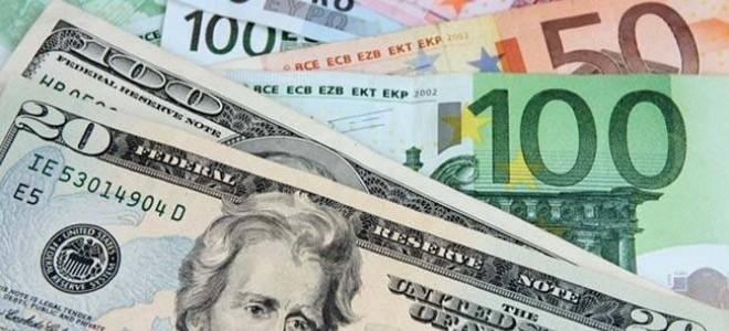 Dolar ve Euro Beş Haftanın Zirvesinde