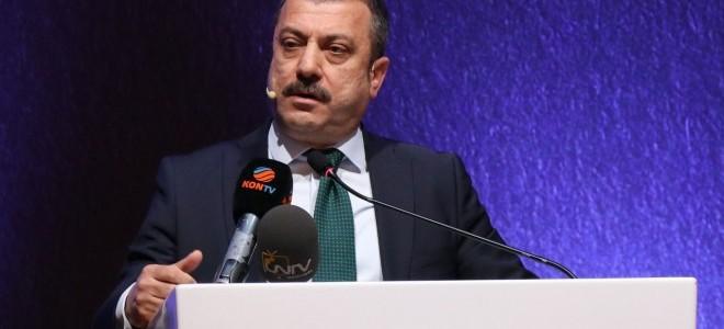 TCMB Başkanı Kavcıoğlu, Enflasyon Raporu toplantısında konuştu