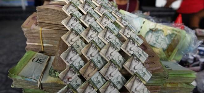 Venezuela'da 5 aylık enflasyon yüzde 900'ü aştı