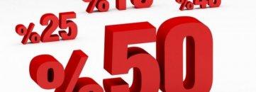 Vitrinlerdeki yüzde oyunları ile tüketici aldatılıyor